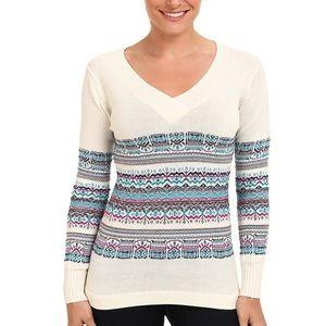 ExOfficio Women's Cafenista Jacquard Sweater